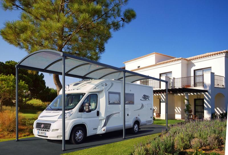 abris voiture et camping car perspective v randa. Black Bedroom Furniture Sets. Home Design Ideas