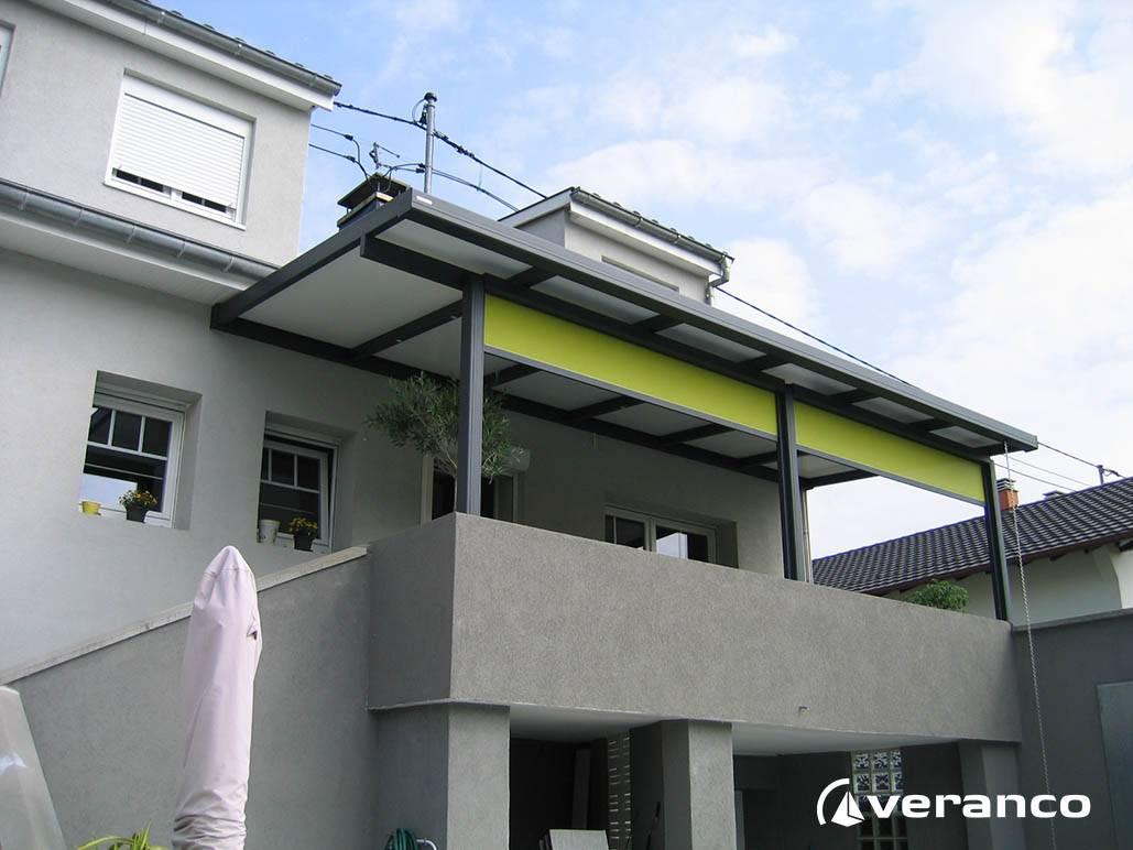 Pergola sur balcon sauvegarder rideau pour terrasse - Canisse pour pergola exterieur ...