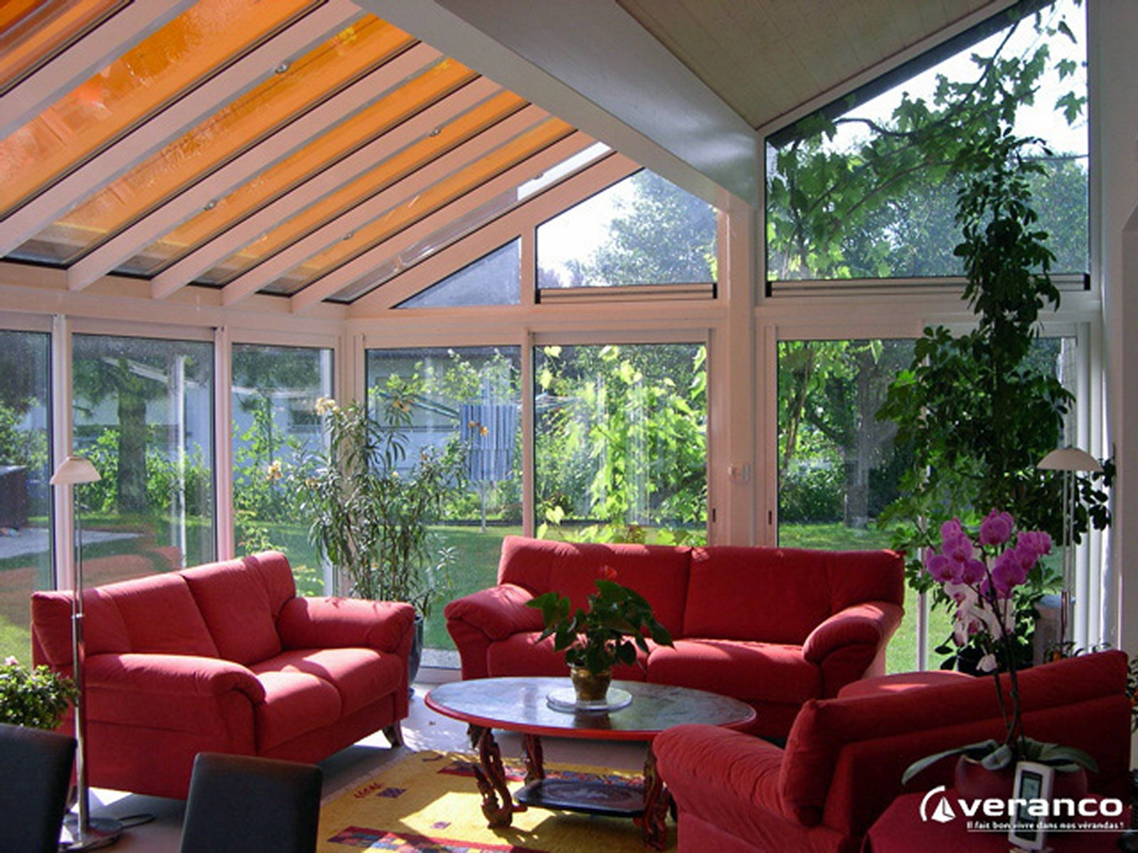 store pour toiture de v randa et pergola perspective v randa. Black Bedroom Furniture Sets. Home Design Ideas