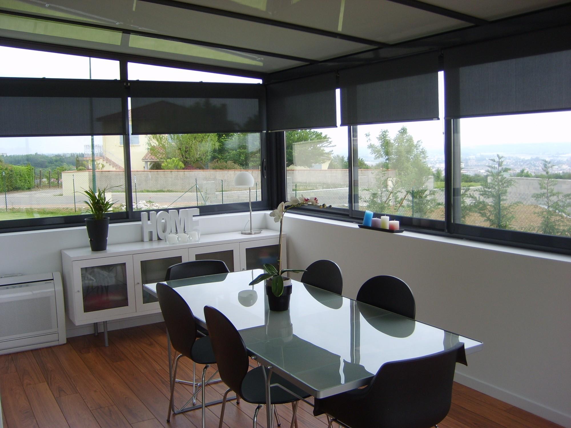 stores int rieurs de protection solaire perspective v randa. Black Bedroom Furniture Sets. Home Design Ideas