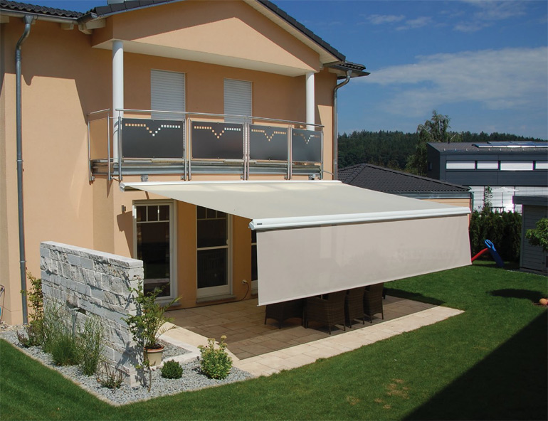 store protection solaire terrasse Lyon Villefranche