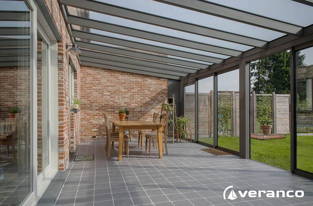 Quel est le prix d'une veranda alu 20m² à Lyon ? - Perspective Véranda