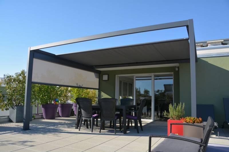 Vérandas sur toit terrasse - Perspective Véranda