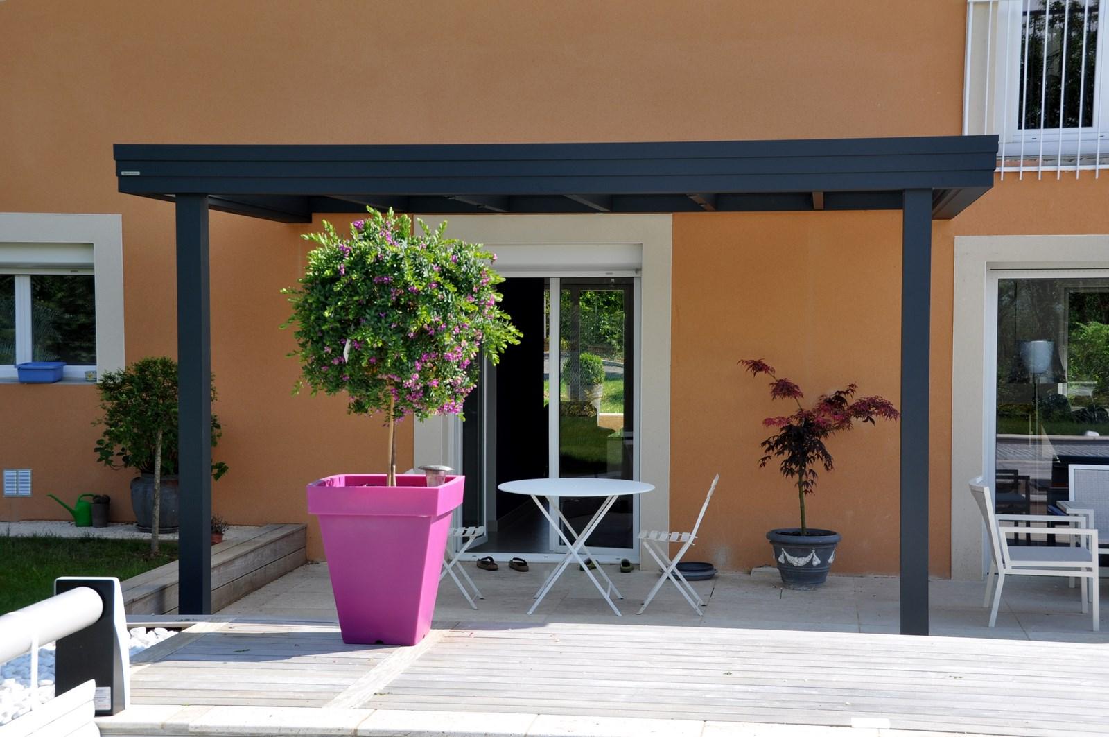 vente de pergola design en aluminium villefranche sur sa ne perspective v randa. Black Bedroom Furniture Sets. Home Design Ideas